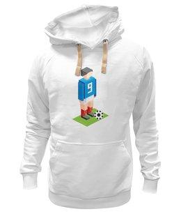 "Толстовка Wearcraft Premium унисекс ""Иг_рай!"" - футбол, арт, круто, 1, игра, спорт, стиль, ретро, pixel, искусство"