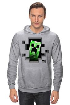 """Толстовка Wearcraft Premium унисекс """"Крипер. Майнкрафт"""" - игры, minecraft, майнкрафт, крипер, геймерские"""