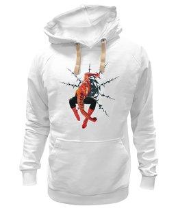 """Толстовка Wearcraft Premium унисекс """"Человек паук"""" - арт, популярные, прикольные, в подарок, оригинально, футболка мужская, парню"""
