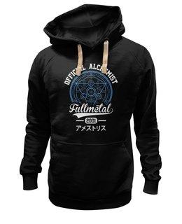 """Толстовка Wearcraft Premium унисекс """"Стальной алхимик"""" - аниме, манга, стальной алхимик, fullmetal alchemist, цельнометаллический алхимик"""