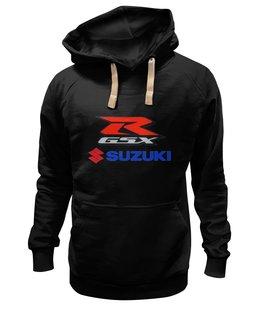 """Толстовка Wearcraft Premium унисекс """"R gsx suzuki sport"""" - прикольные, suzuki"""