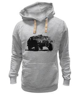 """Толстовка Wearcraft Premium унисекс """"Hummer"""" - авто, jeep, внедорожник, джип"""