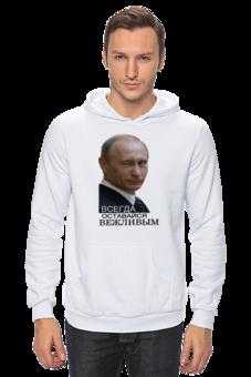 """Толстовка Wearcraft Premium унисекс """"Толстовка с Путиным купить"""" - толстовка с путиным"""