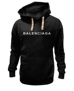 "Толстовка Wearcraft Premium унисекс ""BALENCIAGA LOGO "" - логотип, бренд, хайп, balenciaga, баленсиага"