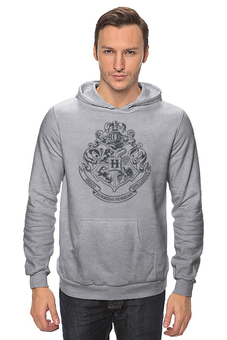 "Толстовка Wearcraft Premium унисекс ""Хогвартс"" - harry potter, гарри поттер, хогвартс, hogwarts, школа магии"