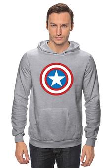 "Толстовка ""Marvel"" - комиксы, супергерой, marvel, марвел, капитан америка, captain america"