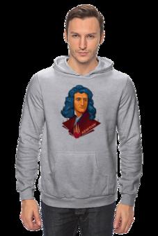 "Толстовка Wearcraft Premium унисекс ""Ньютон"" - science, наука"