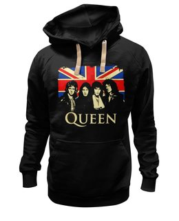 "Толстовка Wearcraft Premium унисекс ""Queen group"" - freddie mercury, queen, rock music, куин, фредди меркьюри"