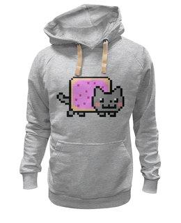 """Толстовка Wearcraft Premium унисекс """"Nyan cat"""" - cat, mem, nyan"""
