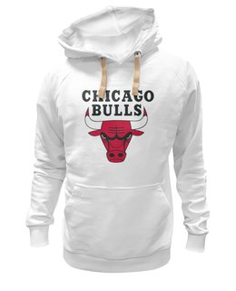 "Толстовка Wearcraft Premium унисекс ""Chicago Bulls"" - баскетбол, basketball, nba, спортивная, jordan, нба, chicago bulls, джордан"