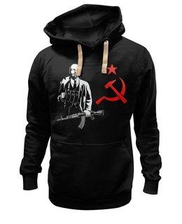 """Толстовка Wearcraft Premium унисекс """"Ленин"""" - ссср, революция, lenin, ленин"""