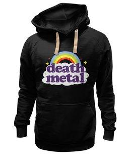 "Толстовка Wearcraft Premium унисекс "" Rainbow death metal"" - slamming"