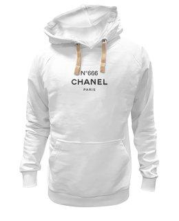 "Толстовка Wearcraft Premium унисекс ""ChanelN666"" - бренд, париж, 666, парфюм"