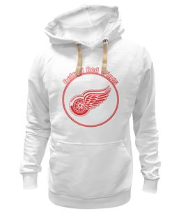 "Толстовка Wearcraft Premium унисекс ""Detroit Red Wings"" - хоккей, nhl, нхл, detroit red wings, ред вингз"