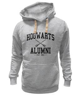 """Толстовка Wearcraft Premium унисекс """"hogwarts alumni"""" - harry potter, гарри поттер, выпускник хогвартс"""