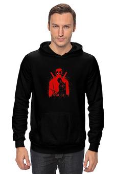 "Толстовка Wearcraft Premium унисекс ""Deadpool"" - комиксы, marvel, deadpool, марвел, дэдпул"