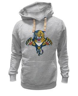 "Толстовка Wearcraft Premium унисекс ""Florida Panthers"" - хоккей, nhl, флорида пантерз"