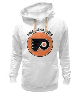 "Толстовка Wearcraft Premium унисекс ""Philadelphia Flyers "" - хоккей, hockey, nhl, нхл, филадельфия флайерз, philadelphia flyers"