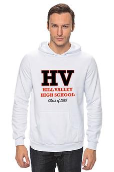 "Толстовка Wearcraft Premium унисекс ""Hill Valley High School'85"" - назад в будущее, back to the future, школа, 1985, hill valley"