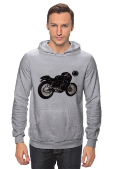 "Толстовка Wearcraft Premium унисекс ""Толстовка Do The Ton"" - vintage, do the ton, caferacer, dotheton, caferacers, cafe-racer"