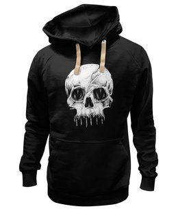 """Толстовка Wearcraft Premium унисекс """"Skull Art"""" - skull, череп, арт, art, страх, ужас, death, смерть, fear, horror"""