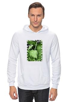 """Толстовка Wearcraft Premium унисекс """"Яблочный микс"""" - напиток, абстракция, яблоко, фрукт, натюрморт"""
