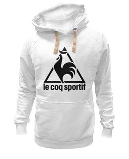 "Толстовка Wearcraft Premium унисекс ""le coq sportif "" - спорт, le coq sportif, ле кок спортив"