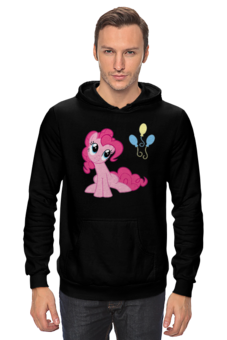 """Толстовка """"Pinkie Pie"""" - прикольно, арт, юмор, pony, mlp, парню, пинки пай, дружбо-это чудо, май литтл пони"""