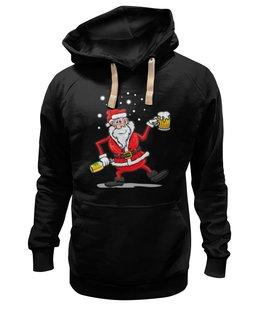 "Толстовка Wearcraft Premium унисекс ""Happy New Year"" - праздник, прикол, happy new year, новый год, santa claus, дед мороз"