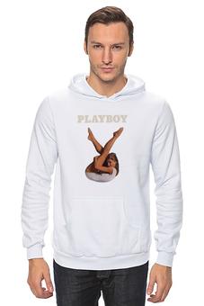 """Толстовка Wearcraft Premium унисекс """"Playboy Девушка"""" - девушка, playboy, плейбой, плэйбой"""
