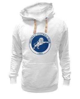"Толстовка Wearcraft Premium унисекс ""Millwall FC logo hoodie"" - millwall, millwallfc, миллуолл, russian lions"