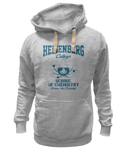 "Толстовка Wearcraft Premium унисекс ""Heisenberg college"" - во все тяжкие, химия, breaking bad, heisenberg, хайзенберг"