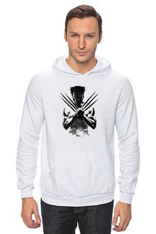 """Толстовка Wearcraft Premium унисекс """"Росомаха (Wolverine)"""" - росомаха, marvel, марвел, wolverine, логан"""