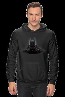 """Толстовка Wearcraft Premium унисекс """"batman"""" - batman, dark knight, тёмный рыцарь"""