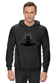 "Толстовка ""batman"" - batman, dark knight, тёмный рыцарь"