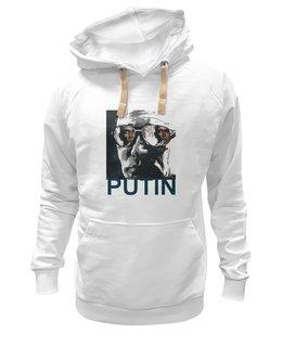 "Толстовка Wearcraft Premium унисекс ""Путин"" - россия, обама, путин, putin, go hard"