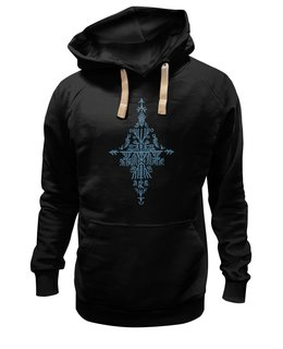 """Толстовка Wearcraft Premium унисекс """"Орнаментальная графика """"Образы растительного мира"""""""" - графика, символ, орнамент, каллиграфия, знак"""