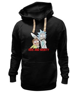 "Толстовка Wearcraft Premium унисекс ""Rick and Morty"" - rick and morty, rick, morty, adult swim, рик и морти"