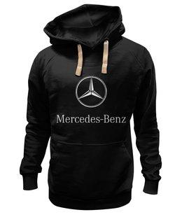 "Толстовка Wearcraft Premium унисекс ""Mercedes benz"" - мерседес, автомобили, mercedes, amg"