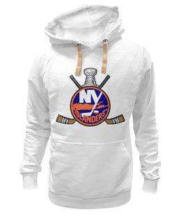 "Толстовка Wearcraft Premium унисекс ""Нью-Йорк Айлендерс"" - хоккей, nhl, нхл, нью-йорк айлендерс, new york islanders"