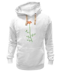 "Толстовка Wearcraft Premium унисекс ""Цветок"" - арт, цветок, стиль"