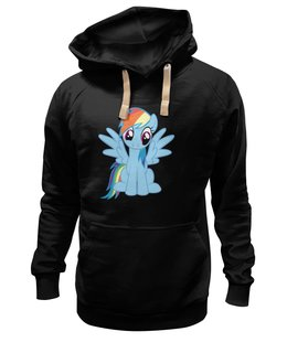 "Толстовка Wearcraft Premium унисекс ""Rainbow Dash"" - популярные, pony, mlp, friendship is magic"