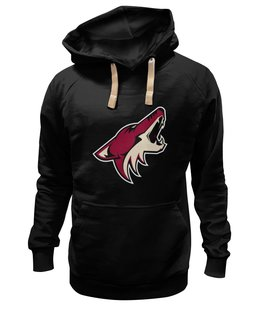 "Толстовка Wearcraft Premium унисекс ""Arizona Coyotes"" - хоккей, nhl, arizona coyotes, койот, аризона койотис"