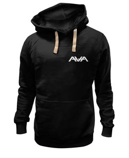 "Толстовка Wearcraft Premium унисекс ""Love Stacked Zip Up Hoodie Black"" - ava, angelsandairwaves, blink182, tomdelonge, tothestars"