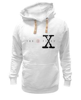"""Толстовка Wearcraft Premium унисекс """"x files"""" - сериалы, популярные, в подарок, оригинально, футболка мужская, x files"""