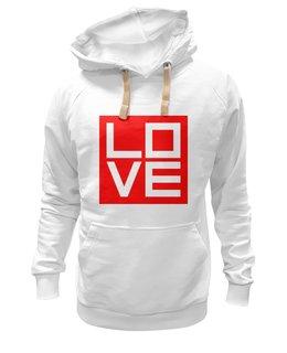 """Толстовка Wearcraft Premium унисекс """"Love (Любовь)"""" - поп арт, pop atr, любовь, дизайн"""