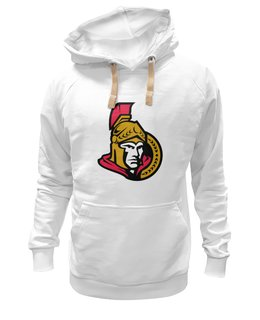 "Толстовка Wearcraft Premium унисекс ""Ottawa Senators"" - хоккей, nhl, ottawa senators, канада, оттава"