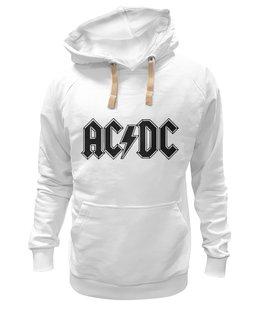 """Толстовка Wearcraft Premium унисекс """"acdc band"""" - музыка, арт, music, рок, популярные, прикольные, группы, креативно, металл, acdc"""