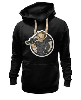 "Толстовка Wearcraft Premium унисекс ""Road Warrior"" - fallout, убежище, vault boy, road warrior"