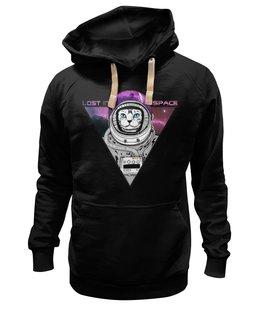 """Толстовка Wearcraft Premium унисекс """"Lost in Space"""" - приколы, популярные, прикольные, космос, коты, оригинально, креативно, lost in space"""